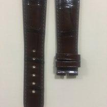 Corum Brilliant Dark Brown Alligator Strap 22 x 18 mm