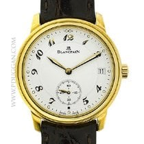 Blancpain 18k yellow gold Lemans