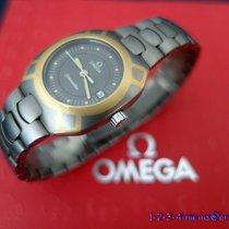 Omega Seamaster Midi Damenuhr  Titan/Gold 18 Karat