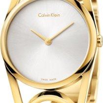 ck Calvin Klein round K5U2M546 Damenarmbanduhr Schmuckband
