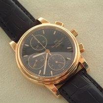 IWC Amalfi 18 Karat Gelbgold Chronograph 39 mm Papiere