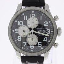 Zeno-Watch Basel Oversized Pilots Chronograph Day-Date