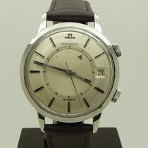 Jaeger-LeCoultre S.Steel Memovox Automatic Alarm Watch Cal. K825