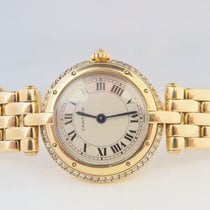 Cartier Panthere Ladies 18k Yellow Gold Original Diamond Set