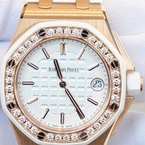 Audemars Piguet Royal Oak Offshore 37mm Rose Gold Diamonds...