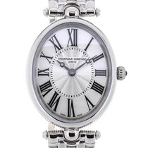 Frederique Constant Art Deco Stainless Steel Mother of Pearl Dial