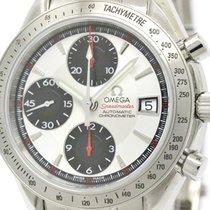 Omega Polished Omega Speedmaster Date Steel Automatic Mens...