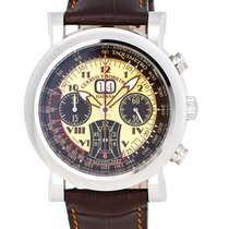 Cuervo y Sobrinos Torpedo Pulsometro Automatic Men's Watch –...