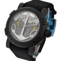 Romain Jerome Capsules Tattoo Black PVD Steel