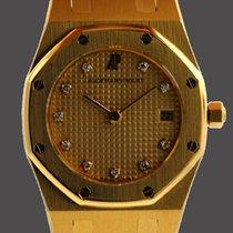 Audemars Piguet Royal Oak Lady Gold 18kt Quartz Diamant...