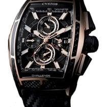 Cvstos Chrono II Challenge Men's Watch, Red Gold with...