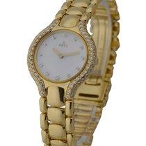 Ebel 8012431 Beluga Ladys with Diamond Case - 18KT Yellow Gold...