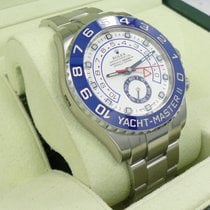 Rolex Yacht Master II 116680 44mm Stainless Steel Oyster Auto...