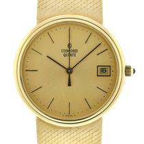 Concord Watch 18k Yellow Gold Quartz
