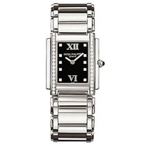 Patek Philippe 4910/10A-001 - Stainless Steel - Ladies - Twenty~4