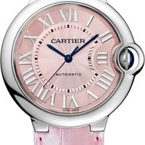 Cartier Ballon Bleu Pink Dial 36 mm WSBB0007 T