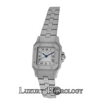 Cartier Authentic Mint Ladies Santos Galbee Automatic 24mm...
