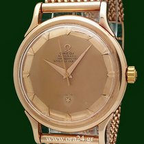Omega Constellation Pie Pan 1950s Cal 354 18k Gold First Series