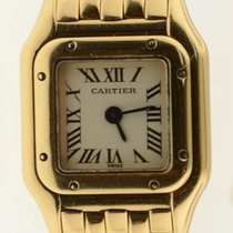 Cartier Panther Mini Solid 18k Yellow Gold Quartz Ladies Watch...
