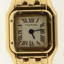 Cartier Panther Mini Solid 18k Yellow Gold Quartz Ladies Watch...