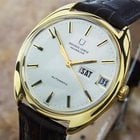 Universal Genève 18k Solid Gold Jumbo Auto Swiss Watch With...