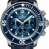 Blancpain Fifty Fathoms Flyback Chronograph 5085FB-1140-52b