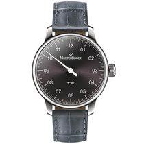 Meistersinger Uhren Herrenuhr Einzeigeruhr N02 AM6607