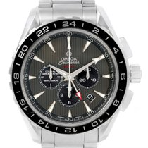Omega Seamaster Aqua Terra Gmt Watch 231.10.44.52.06.001 Box...