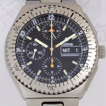 帝玛 (Tutima) Military Chronograph Titan Lemania 5100 Fliegeruhr...