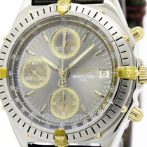 Breitling Polished Breitling Chronomat Gold Steel Automatic...