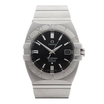 Omega Constellation Double Eagle Stainless Steel Gents 15135100
