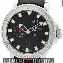 Ulysse Nardin Marine Aqua Perpetual 42mm Steel Black Dial Ref....