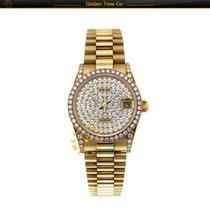 Rolex Datejust Lady 68158 Full Yellow Gold Diamond