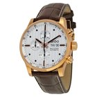 Mido Multifort Silvered Dial Chronograph Men's Watch