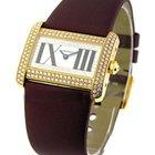 Cartier Tank Divan Yellow Gold with Diamond Case