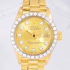 Rolex Lady Datejust Gold 1972 18K Presidentband Diamond Vintage