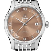 Omega 43310412110001 De Ville Hour Vision Co-axial Steel
