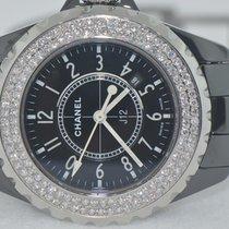 Chanel J12 Ceramic Automatic 33 MM Diamonds