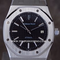 Audemars Piguet Royal Oak 39mm black dial Box & paper...
