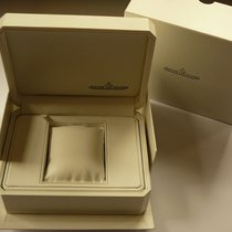 Jaeger-LeCoultre leather watch box with outer box and JLC...
