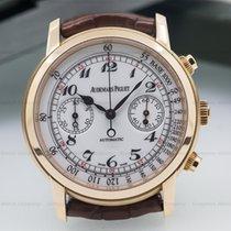 Audemars Piguet Jules Audemars Chronograph White Dial 18K Rose...