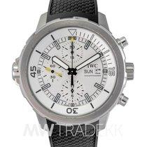 IWC Aquatimer Chronograph White Dial Black Rubber(NEW)