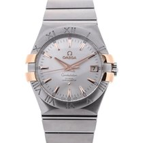 Omega Constellation 35 Silver Dial