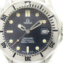 Omega Polished Omega Seamaster Professional 300m Steel Mid...