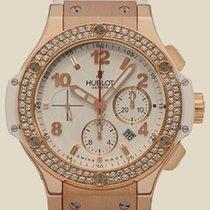 Hublot Big Bang 44 MM Red Gold All White Porto Cervo Diamonds