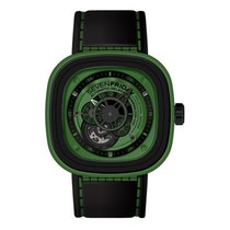 "Sevenfriday P1-5 Stainless Steel / PVD ""Green"""