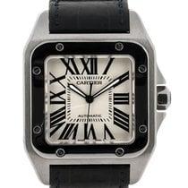 Cartier Santos 100 Xl In Acciaio Ref. W20073x8