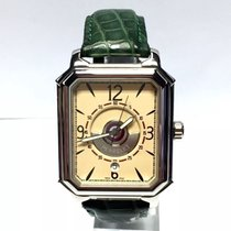 Perrelet Rectangle Royale Ss Men's Watch W/ Skeleton Back...