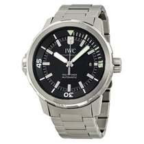 IWC Aquatimer Black Dial Stainless Steel Mens Watch IW329002