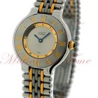 Cartier Must 21 1988 Vintage Small, Silver Dial - Yellow Gold...